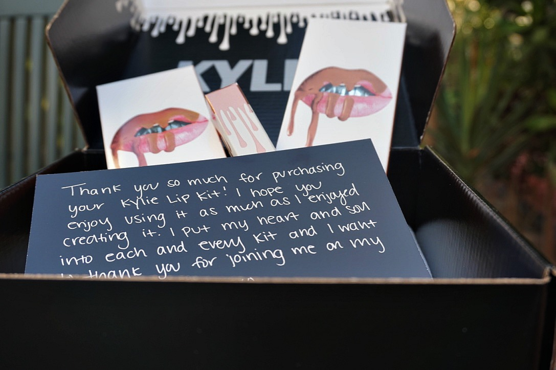 Kylie Lip-Kit Review